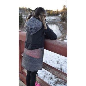 Ivivva Mesh With The Rain Jacket Gray Hoodie | 7
